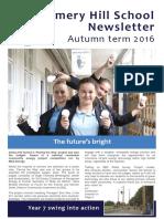 Amery Hill School Newsletter December 2016