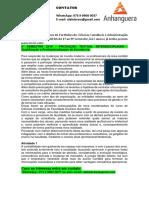 8° SEMESTRE 2019 - PRODUÇÃO TEXTUAL INTERDISCIPLINAR - Qualificação e Profissionalização de Excelência.