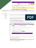 Desbloquear Portas Do Roteador MitraStar GPT-2541GNAC