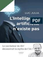 L'Intelligence Artificielle n'Existe Pas - Luc Julia