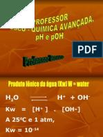 Química PPT - Solução Aquosa - PH e POH 01