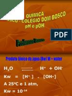 Química PPT - Solução Aquosa - PH e POH 02