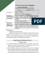 6° e 7° SEMESTRE 2019 - PRODUÇÃO TEXTUAL INTERDISCIPLINAR - Novas Tendências para o Comércio Internacional Brasileiro