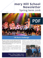 Amery Hill School Newsletter March 2016