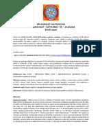 Plan Izleta Velebit-Sveto Brdo-zimski Uspon