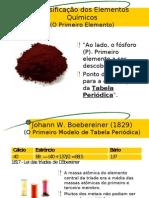 Química PPT - Tabela Periódica - Histórico