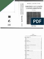 Comentários à lei de Licitações e Contratos Administrativos   Marçal Justen Filho.pdf