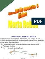 Química PPT - Teorema de Energia Cinética