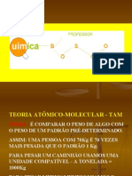 Química PPT - Teoria Atômica Molecular