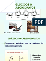 Clase 8 Metabolitos Primarios Carbohidratos