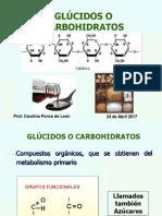 Clase 8 Metabolitos Primarios Carbohidratos