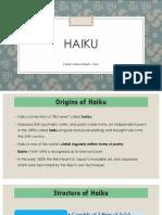 Forms of Poetry - Haiku