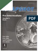 Snapshot Pre Intermediary Teacher s Book