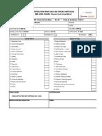 IME-HSE-CH008 Check List Grúa Móvil