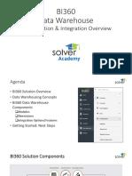 Data Warehouse Overview Slide Deck bi360