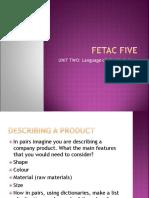 Fetac fiveunit2.ppt
