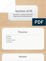 Theories of IR