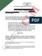 Alegaciones presentadas por Proanimal a la modificación del Reglamento de Armas
