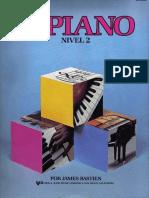 Piano BASTIEN Básico Nivel 2