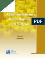 El sistema nacional de investigación en números