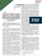 Rvm 023 2019 Minedu Nt Contratacion de Auxiliares El Peruano INOHA