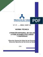Norma técnica AISPEC