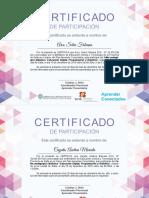 Certificados Aprender Conectados - EDPyR
