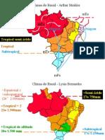 Geografia PPT - Climas do Brasil
