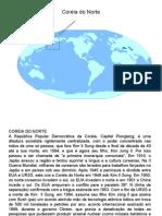 Geografia PPT - Corea do Norte