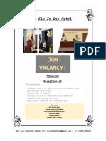 Receptionist - Ad (2)