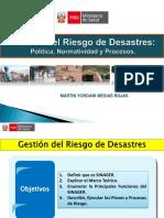 GESTION DE RIESGO Y DESASTRE
