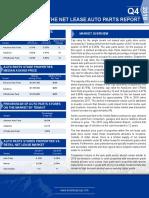 Single Tenant Auto Parts Report 2019