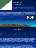 Geografia PPT - Europa 02