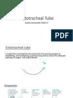 12. Endotracheal Tube