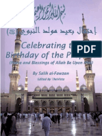 Celebrating the Birthday of the Prophet (PBUH)
