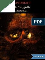 Hongos de Yuggoth y Otros Poemas Fantasticos H P Lovecraft