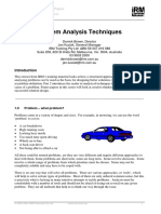 Problem Analysis Techniques.pdf