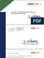 FINANCIAL STATEMENT [ CMA] - By CMA Srinivas Reddy [ LETSLEARN GLOBAL ]