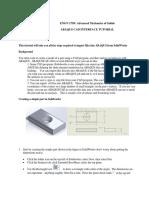 ABAQUS CAD Import Tutorial