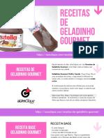 Receitas de Geladinho Gourmet de Maracujá e mais 50 Receitas