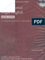 Krois Lindner Amy International Legal English Student s Book