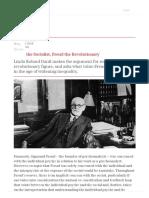 Freud the Socialist, Freud the Revolutionary
