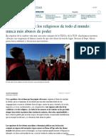 """El """"Mea Culpa"""" de Los Religiosos de Todo El Mundo_ Nunca Más Abusos de Poder - La Stampa"""