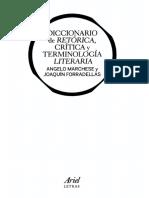 Diccionario De Retorica Critica Y Terminologia Literaria - Marchese Angelo Y Forradellas Joaquin.pdf