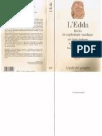 l'Edda - R_cits de Mythologie Nordique - Snorri Sturluson - Ed Gallimard -2005 - 232p