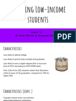 engaging low-income students presentation
