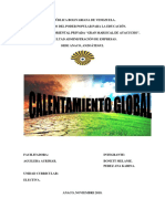 Calentamiento Global - Electiva