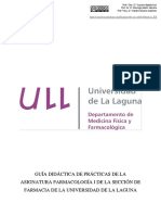 Cuadernillo de Prácticas Farmacología I