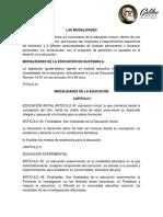 Modalidades de La Educacion1212