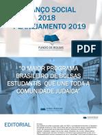Balanço Social 2018- Plano 2019